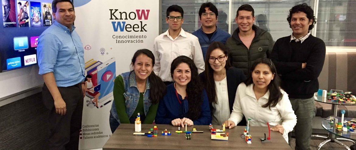 Design Thinking + LEGOS - KnoWeek UPC