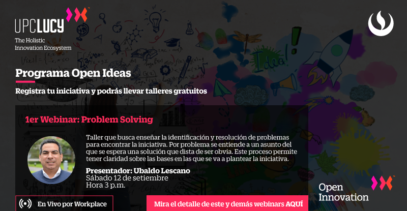 Webinar Problem Solving Ubaldo Lescano