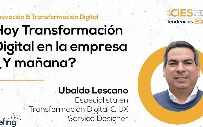 Transformación Digital Ubaldo Lescano